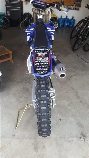 yz 450 f  to swop for a fishing  boat