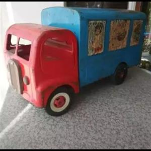 Vintage Triang tin truck