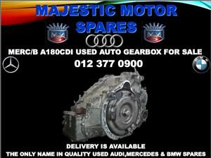 Mercedes benz a180 used auto gearbox for sale