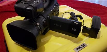 Canon Xf100 HD video camera