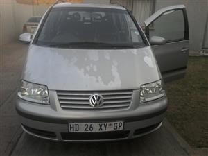 2001 VW Sharan 2.8 V6 tiptronic