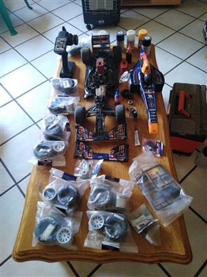 RB7 model F1 nitro rc car