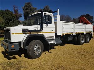 SAMAG 120 6X4 Crane Truck for Sale!