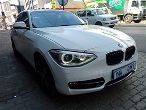 2014 BMW 1 Series 120d 5 door Sport auto