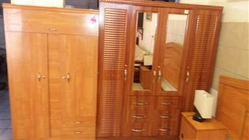 2 Wooden cupboards for sale