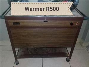 Food warmer trolley for sale