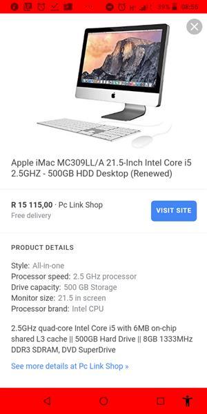 Imac Pro for sale