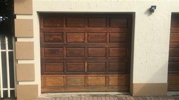 1 Fully Automated Single Garage Door