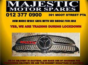 Mercedes benz new diamond grill for sale