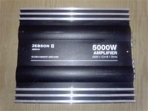 A Jebson monoblock car amplifier.