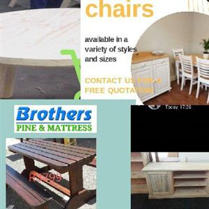 South African pine furniture
