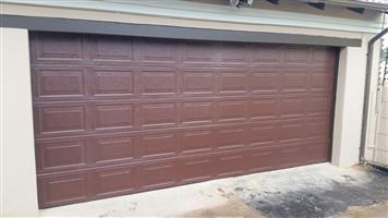 Garage Door Double Sectional Alu-Zink