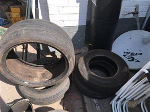 Tyres without rims