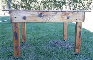 recycled antique coffee table