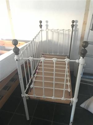 Brass Baby Cot