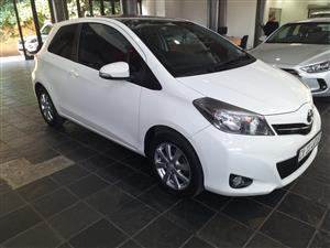 2014 Toyota Yaris 3 door 1.3 XS