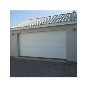 GARAGE DOOR :  STEEL WHITE