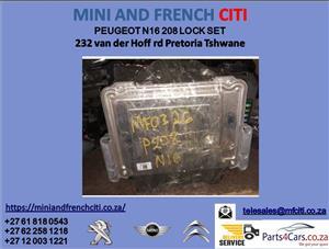 peugeot 208 lock set for sale