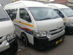 Toyota Quantum 2.5D 4D GL 14 seater bus
