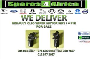 RENAULT CLIO WIPER MOTOR MK3 / 4 PIN FOR SALE
