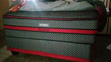 Revitaliser Restonic King Size bed - Less than six months old - in excellent condition