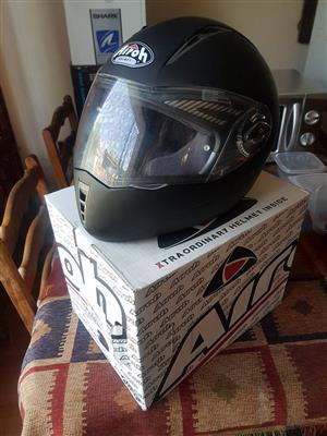 Airoh black matt helmet