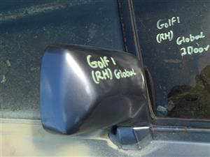 VW Golf 1 (two Doors) Right Door Mirror