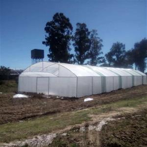 We sale all types of green houses for affordable prices complete structures with clear 200 micron plastic , DIY structures, 200 micron plastic for sale & back yards nursery .kindly contact us for more information