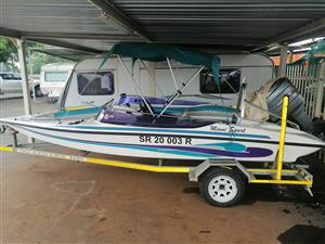 Various boats on sale from R40000