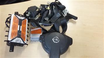 Nissan Qashqai Complete Airbag Set