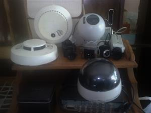 CCTV Cameras and other Security items