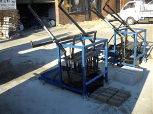 W1 Manual or Electric Block and Brick Making Machines/W1 Mobile/Egg Layer Machine