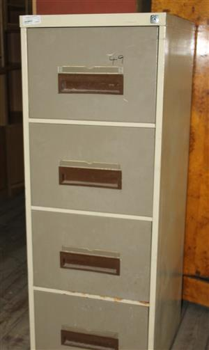 Metal filing cabinet 4 drawers S031797A #Rosettenvillepawnshop