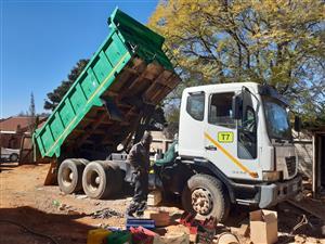 Tipper truck tlb and Bobcat repairs