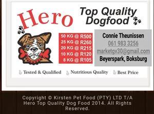Hero Top Quality Dogfood