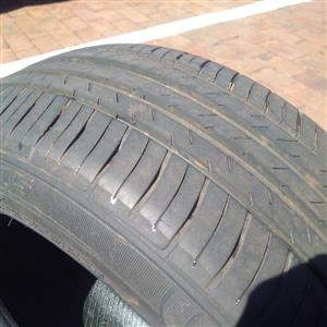"15"" Inch 4 x   195/ 50/ 15 Tyres for SALE"