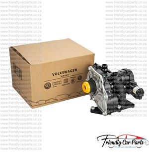 VW Golf 7 2.0T Scirocco 2.0 TSi Beetle 2.0T CULC Polo Tiguan Touran Water Pump with Thermostat Coolant Regulator OE 06L121111H