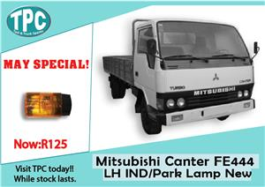 Mitsubishi Canter FE 444 Left Hand IND/Park Lamp New for Sale at TPC