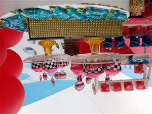 Kiddies decor and jumping castles