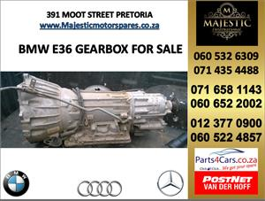 Bmw e36 gearbox for sale