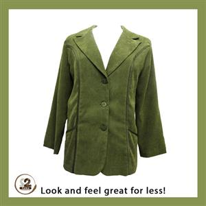Get the green blazer for the winter season.