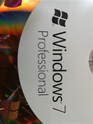WINDOWS 7 PROFESSIONAL ORIGINAL DVD