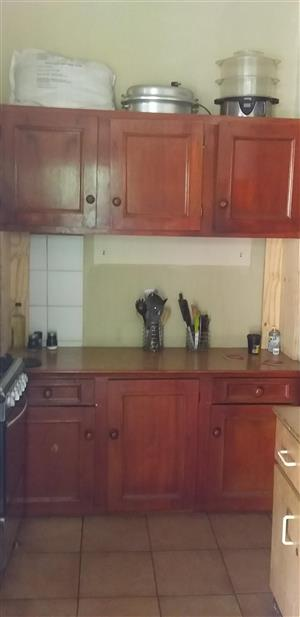 2 Piece Kitchen cupboard