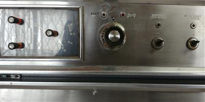 Defy eye level stainless steel oven