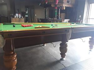 3/4 Union Billiards Snooker Table