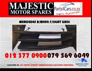 Mercedes benz w202 face lift grill new for sale new spares