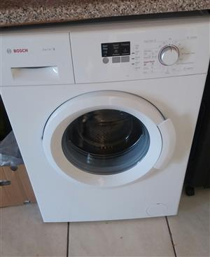 Bosh washing machine