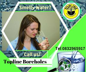 Smelly Water? We specialise in Gauteng boreholes. Contact us immediately!
