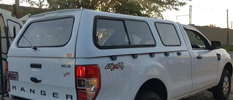 GC BRAND NEW RANGER T6 LOW-LINER WHITE SINGLE CAB BAKKIE CANOPY FOR SALE!!!