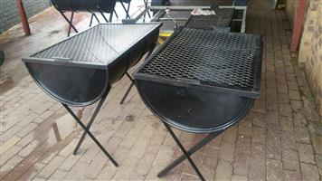 New braai stands for sale. Bargain